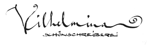 Vilhelmina Schönschreiberei
